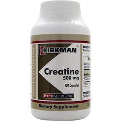 KIRKMAN Creatine (500mg) Best by 8/14 120 caps