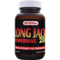 ACTION LABS Long Jack Powermax 200 60 caps