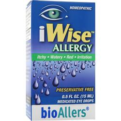 Bioallers iWise Allergy - Medicated Eye Drops .5 fl.oz