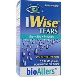 BIOALLERS iWise Tears - Moisturizing Eye Drops .5 fl.oz