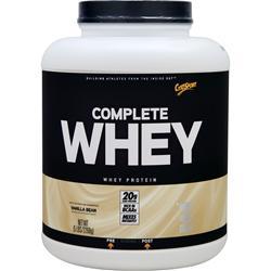 Cytosport Complete Whey Protein Vanilla Bean BEST BY 10/17 5 lbs