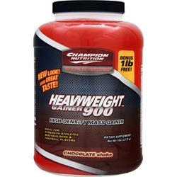 CHAMPION NUTRITION Heavyweight Gainer 900 Chocolate 7 lbs