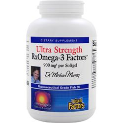 NATURAL FACTORS RxOmega-3 Factors - Ultra Strength 150 sgels