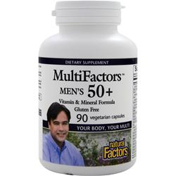 NATURAL FACTORS MultiFactors Men's 50+ 90 vcaps