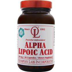 OLYMPIAN LABS Alpha Lipoic Acid (100mg) 60 caps