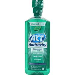 CHATTEM ACT Restoring Anticavity Flouride Rinse Mint Best by 5/14 18 oz