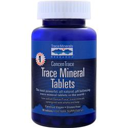 Trace Minerals Research ConcenTrace Trace Mineral Tablets 90 tabs