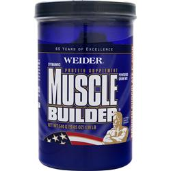 Weider Dynamic Muscle Builder Smooth Chocolate 19.05 oz