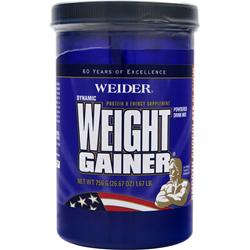 WEIDER Dynamic Weight Gainer Smooth Chocolate 1.67 lbs