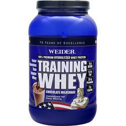 Weider Training Whey - 100% Premium Hydrolyzed Whey Protein Chocolate 2 lbs