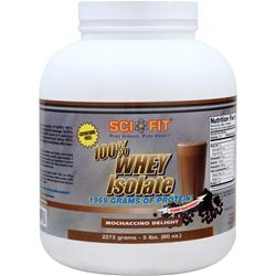 SCI-FIT 100% Whey Isolate Mochaccino Delight 5 lbs