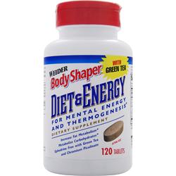 WEIDER Body Shaper - Diet & Energy 120 tabs