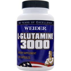 WEIDER L-Glutamine 3000 120 caps