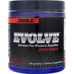 SWOLE Evolve Extreme Pre-Workout Amplifier Fruit Punch 250 grams