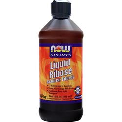 Now Liquid Ribose Cellular Energy 16 fl.oz