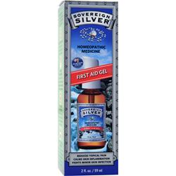 SOVEREIGN SILVER Homeopathic Medicine - First Aid Gel 2 fl.oz