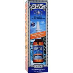 SOVEREIGN SILVER Bio-Active Silver Hydrosol - Immune Support Vertical Spray 2 fl.oz