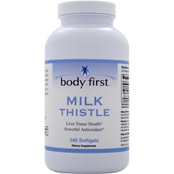 BODY FIRST Milk Thistle (250mg) 240 sgels