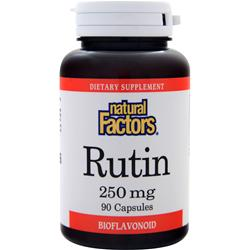 NATURAL FACTORS Rutin (250mg) 90 caps