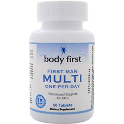 BODY FIRST First Man Multi (One-Per-Day) 60 tabs