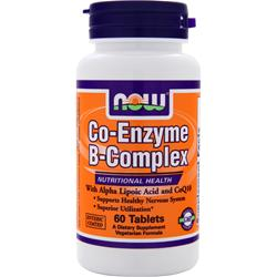 NOW Co-Enzyme B-Complex 60 tabs