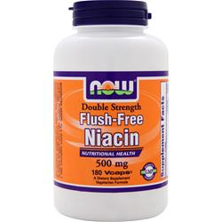 NOW Flush-Free Niacin (500mg) 180 vcaps