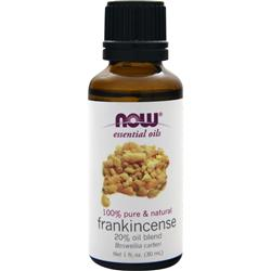 NOW Frankincense - 20% Oil Blend 1 fl.oz