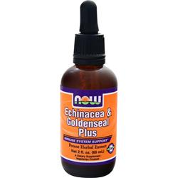 Now Echinacea & Goldenseal Plus 2 fl.oz