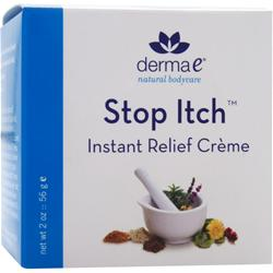 DERMA-E Stop Itch Instant Relief Creme 2 oz