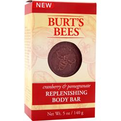 BURT'S BEES Replenishing Body Bar Cranberry & Pomegranate 5 oz