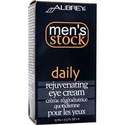 AUBREY Men's Stock Daily Rejuvenating Eye Cream .5 fl.oz
