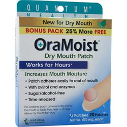 QUANTUM OraMoist Dry Mouth Patch 20 unit