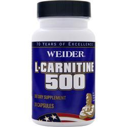 Weider L-Carnitine 500 30 caps