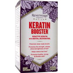 Reserveage Organics Keratin Booster  BEST BY 5/17 60 vcaps
