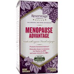 RESERVEAGE ORGANICS Menopause Advantage Best by 12/14 60 vcaps
