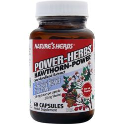 NATURE'S HERBS Hawthorn - Power 60 caps