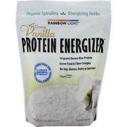 rainbow light protein energizer rice protein creamy vanilla 10 7 oz. Black Bedroom Furniture Sets. Home Design Ideas