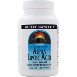 Source Naturals Alpha Lipoic Acid - Timed Release (300mg) 120 tabs