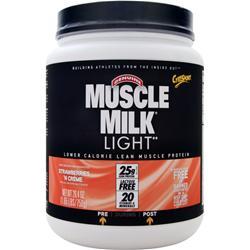 Cytosport Muscle Milk Light Strawberries & Creme 1.65 lbs