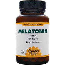 COUNTRY LIFE Melatonin (1mg) 120 tabs