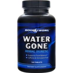 BodyStrong Water Gone - Herbal Diuretic 180 tabs