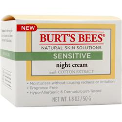 BURT'S BEES Night Cream Sensitive 1.8 oz