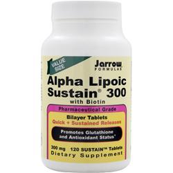 JARROW Alpha Lipoic Sustain 300 120 tabs