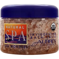 AUBREY Natural Spa Sea Wonders - Invigorating Bath Salts 12 oz