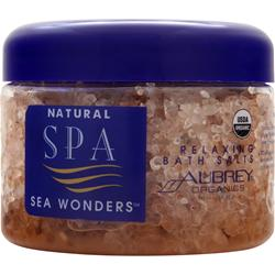 Aubrey Natural Spa Sea Wonders - Relaxing Bath Salts 12 fl.oz