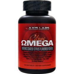 AXIS LABS Citrus Omega 120 sgels