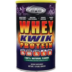 STS Whey Kwik Protein Natural Flavor 1.9 lbs