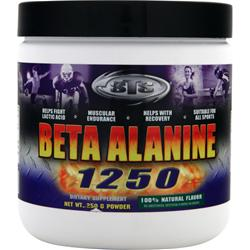 STS Beta Alanine 1250 Natural Flavor 250 grams