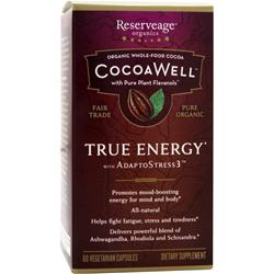 RESERVEAGE ORGANICS CocoaWell True Energy with AdaptoStress3 60 vcaps