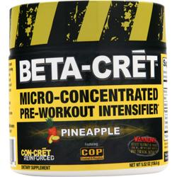 Con-Cret Beta-Cret Micro-Concentrated Pre-Workout Intensifier Pineapple 5.52 oz